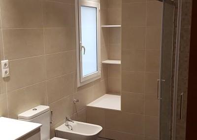 Reforma de baño en calle Navas de Tolosa
