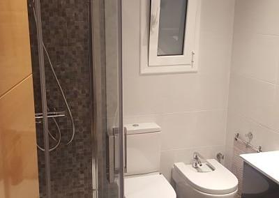 Reforma de baño en Calle Idumea