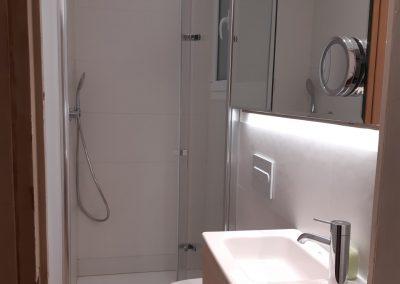 Reforma baño en calle Nápoles