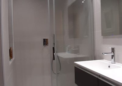 Reforma de baño calle Massens