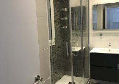Reforma de baño calle Perez Galdós